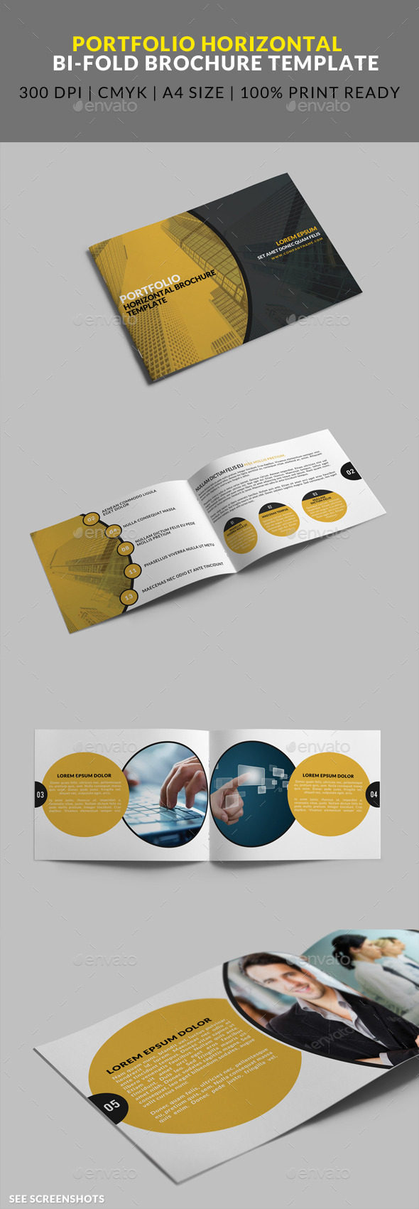 GraphicRiver 8 Page Portfolio Horizontal Bifold Brochure 8823869