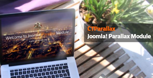 CodeCanyon CTParallax Joomla Parallax Module 8823962