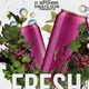 Fresh Drinks Flyer Template - GraphicRiver Item for Sale
