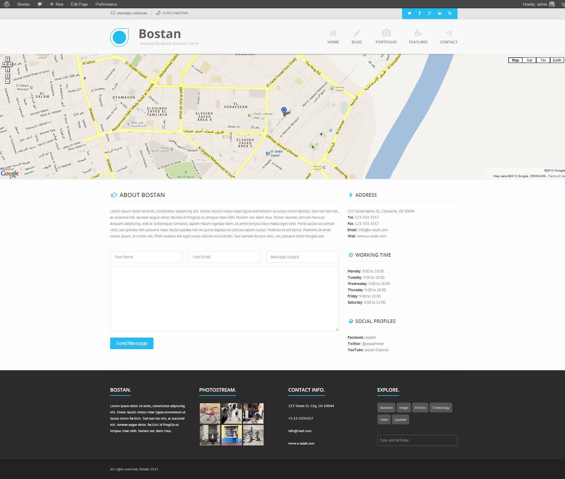 Bostan - Retina Responsive Multi-Purpose Theme