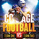 Collage Football Flyer - GraphicRiver Item for Sale