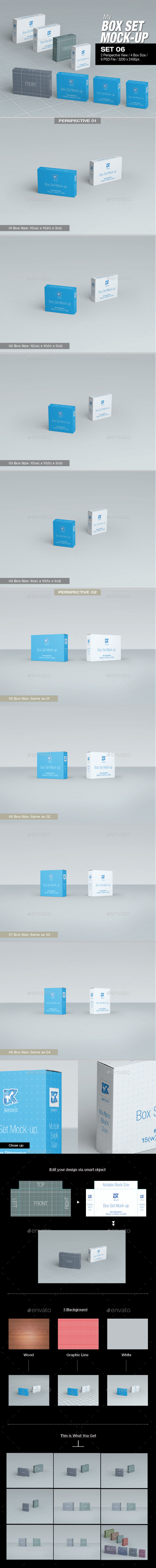 GraphicRiver MyBox Set Mock-up Set 06 8824349
