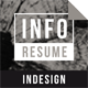Info Resume - GraphicRiver Item for Sale