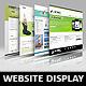 Photorealistic Website Presentation Mockups - GraphicRiver Item for Sale