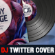Dj and Musician Release Twitter Cover Template - GraphicRiver Item for Sale