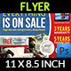 Sale Market Flyer Template - GraphicRiver Item for Sale