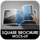 Square Brochure / Catalog / Magazine Mock-Up - GraphicRiver Item for Sale