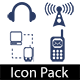 Icon Pack 1 : Communication - GraphicRiver Item for Sale