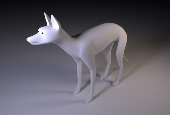 3DOcean canine base mesh 8824805