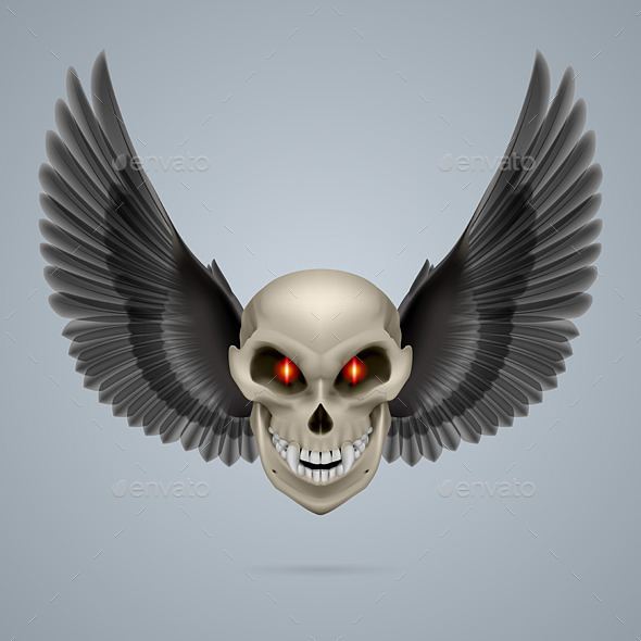 GraphicRiver Mutant Skull 8824871