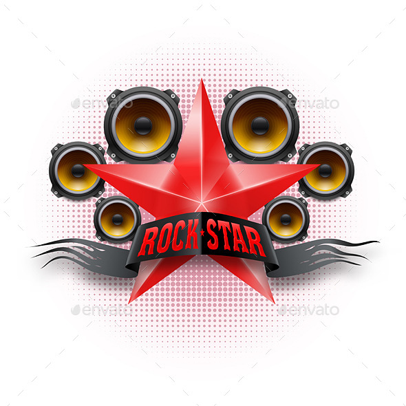GraphicRiver Rock Star 8824886