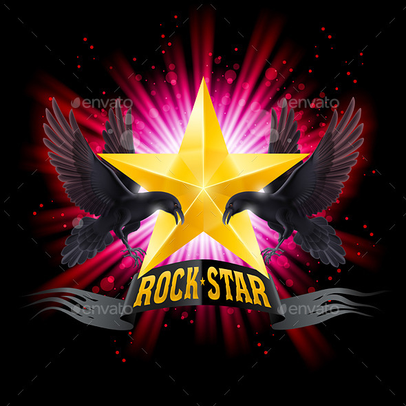 GraphicRiver Rock Star 8824890