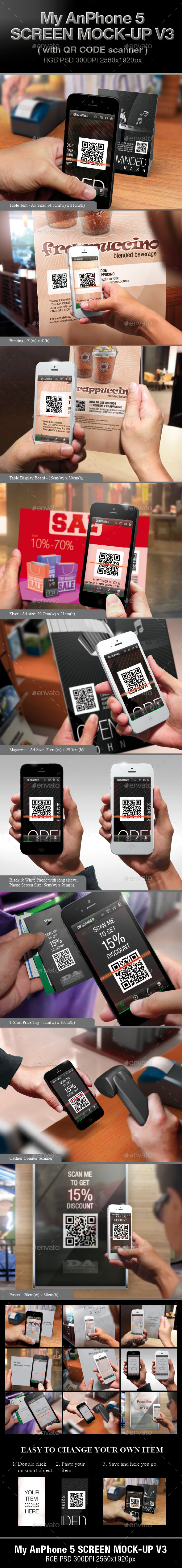 My AnPhone 5 Screen Mock-up V3 - Mobile Displays