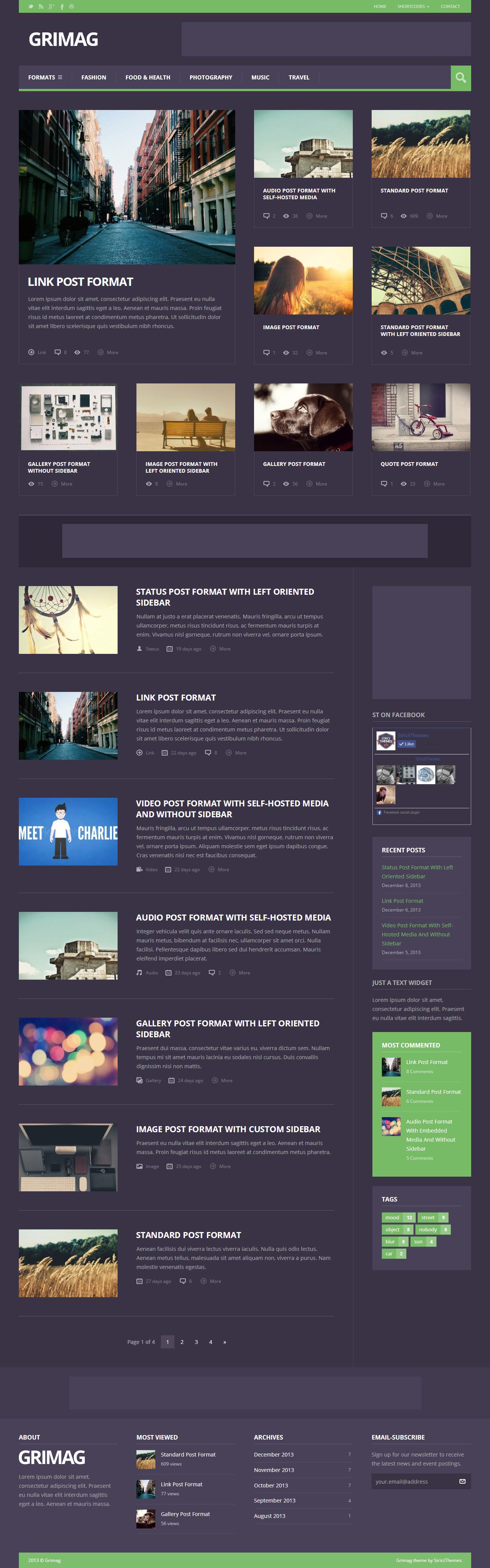 Grimag: AD Optimized Magazine