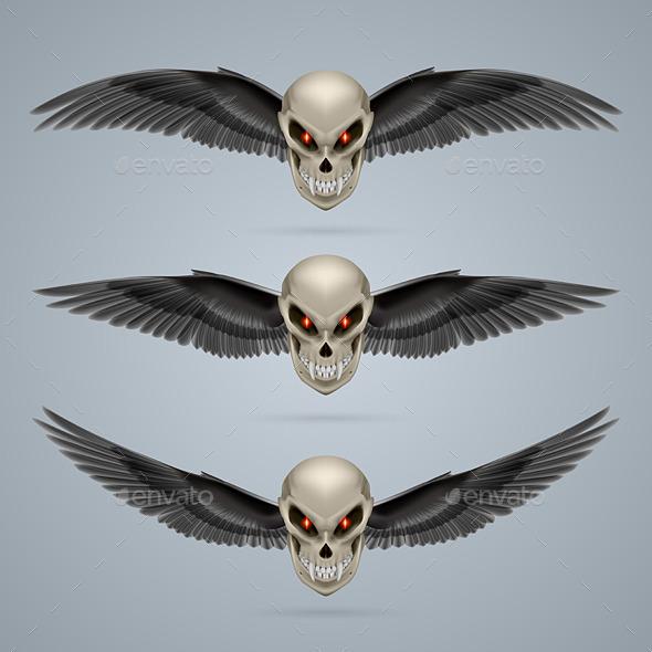 GraphicRiver Mutant Skull 8825007