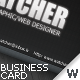 Minimal look business card - GraphicRiver Item for Sale