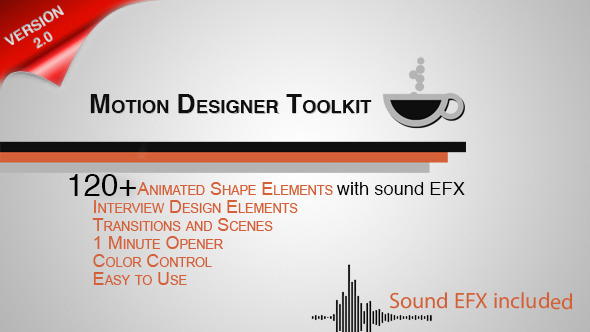 Motion Designer Toolkit