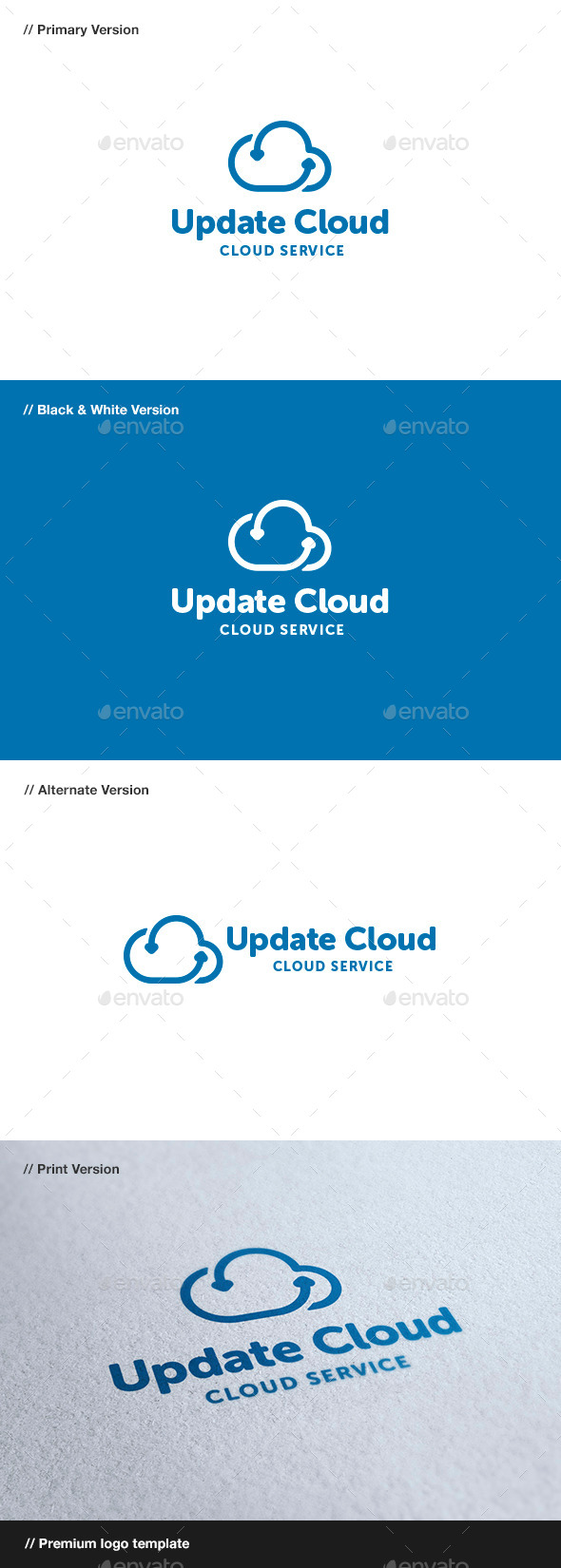 GraphicRiver Update Cloud 8825583