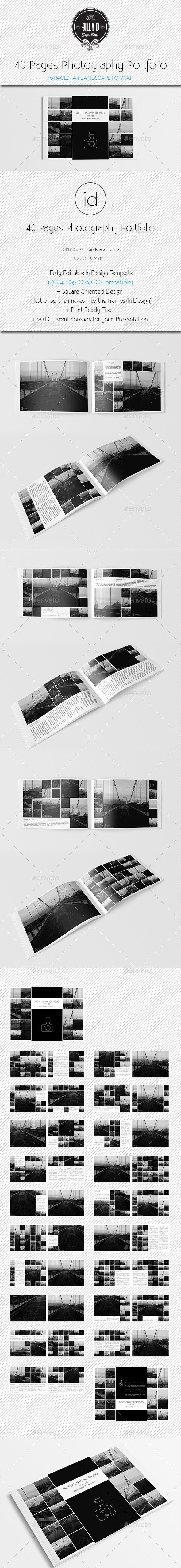 GraphicRiver 40 Pages Photography Portfolio 8825703