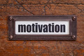 motivation - file cabinet label - PhotoDune Item for Sale