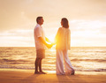 Mature Couple Enjoying Sunset - PhotoDune Item for Sale