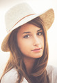 Portrait of Trendy Stylish Hipster Woman - PhotoDune Item for Sale