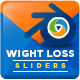 Weight Loss Sliders - GraphicRiver Item for Sale