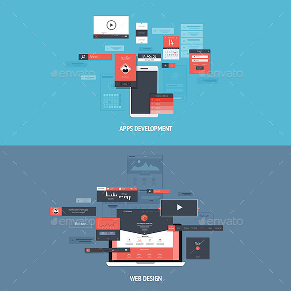 GraphicRiver Design Concepts Icons 8827365