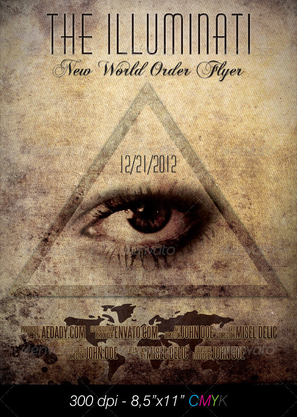 GraphicRiver Illuminati Film Poster 898745