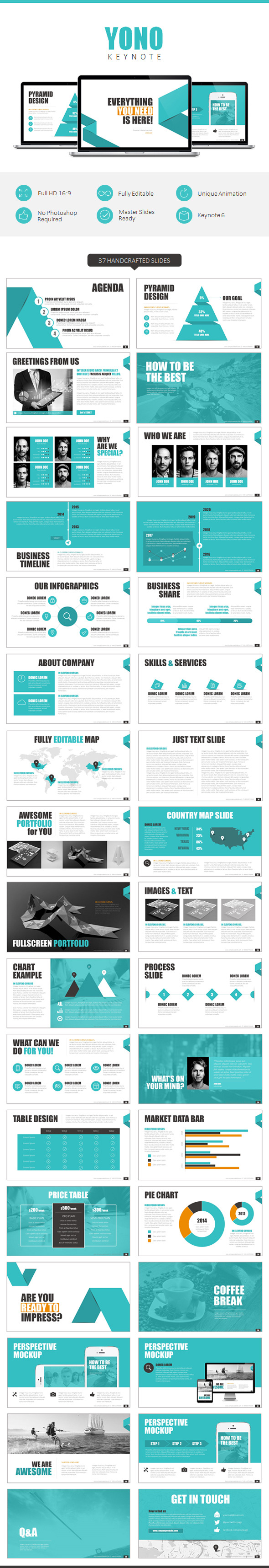 YONO Keynote Template