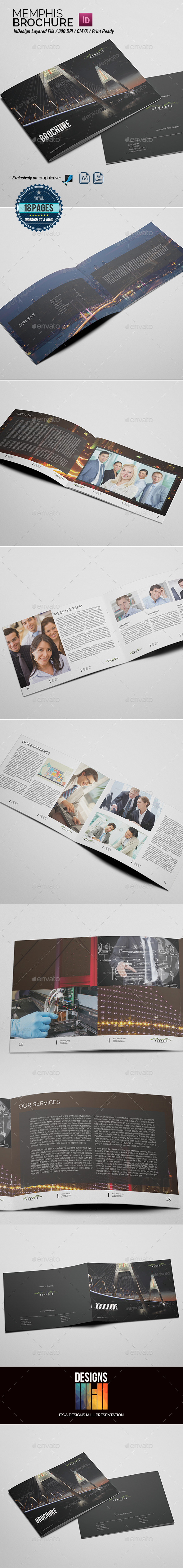 GraphicRiver Memphis Multipurpose Brochure 8828372