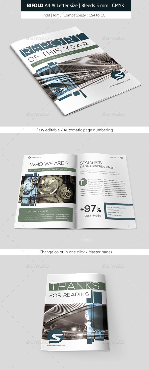 GraphicRiver Creative Indesign Brochure Template 8828384