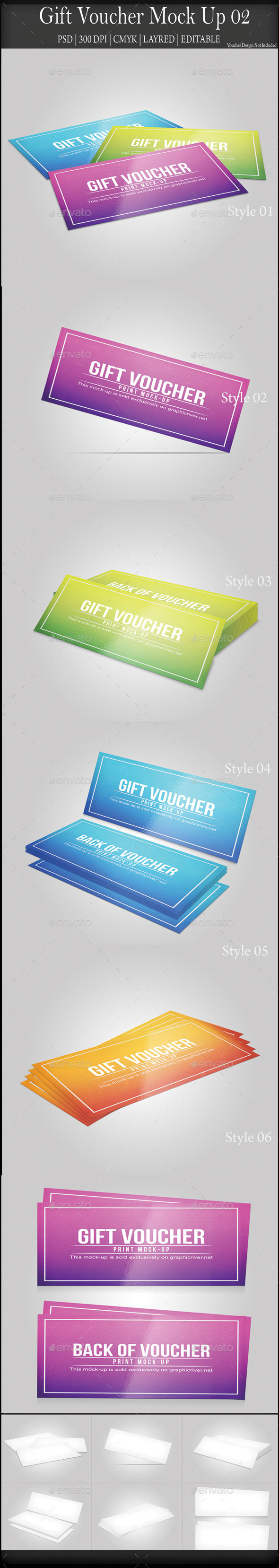 GraphicRiver Gift Voucher Mock Up 02 8828619