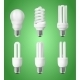 Set of Energy Saving Light Bulbs - GraphicRiver Item for Sale