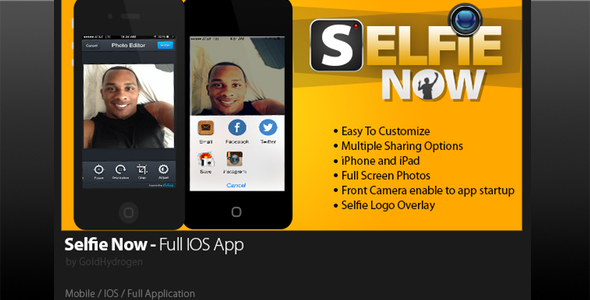 CodeCanyon Selfie Now 8829240