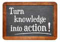 turn knowledge into action - PhotoDune Item for Sale