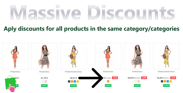 Prestashop Massive Discounts