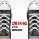 Background with Sneakers - GraphicRiver Item for Sale