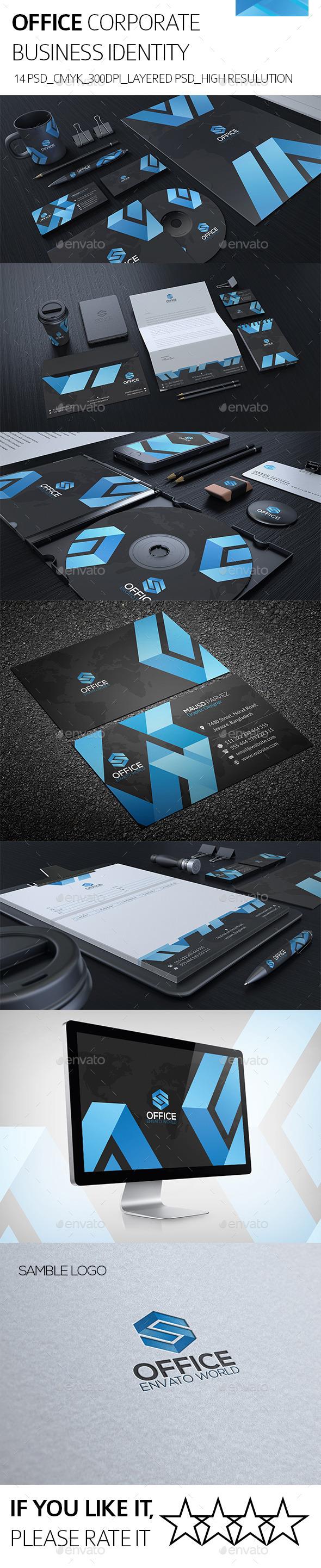 GraphicRiver Office Corporate Identity 8823627