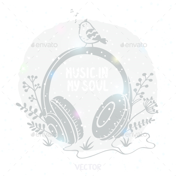 GraphicRiver Headphones 8830184