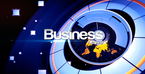 Business News Broadcast Package