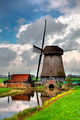 Traditional Dutch Windmill  - PhotoDune Item for Sale