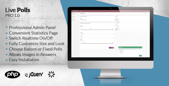 CodeCanyon Crafted Live Polls Pro 8830538