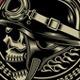Vintage Biker Skull Emblem - GraphicRiver Item for Sale