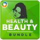 Health and Beauty Banner Bundle - 3 Sets - GraphicRiver Item for Sale