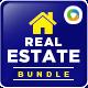 Real Estate Banner Bundle - 3 Sets - GraphicRiver Item for Sale