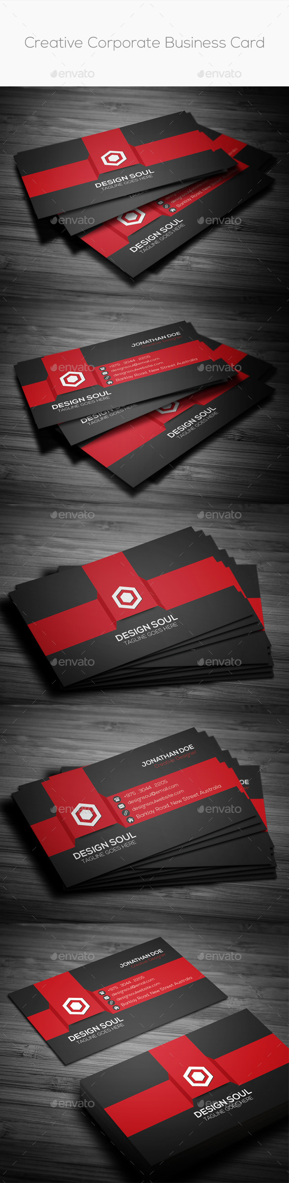 GraphicRiver Creative Corporate Business Card 8831181