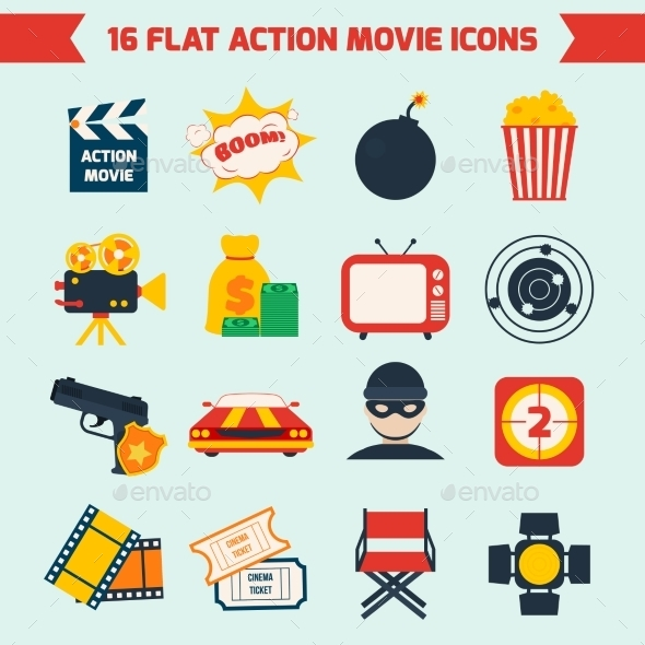 GraphicRiver Action Movie Set 8831389