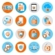 Data Protection Security Icons - GraphicRiver Item for Sale