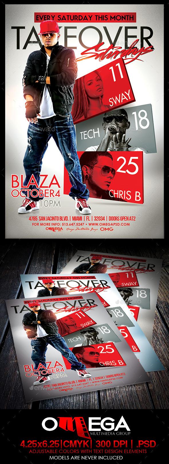 GraphicRiver Takeover Saturdays 8832556